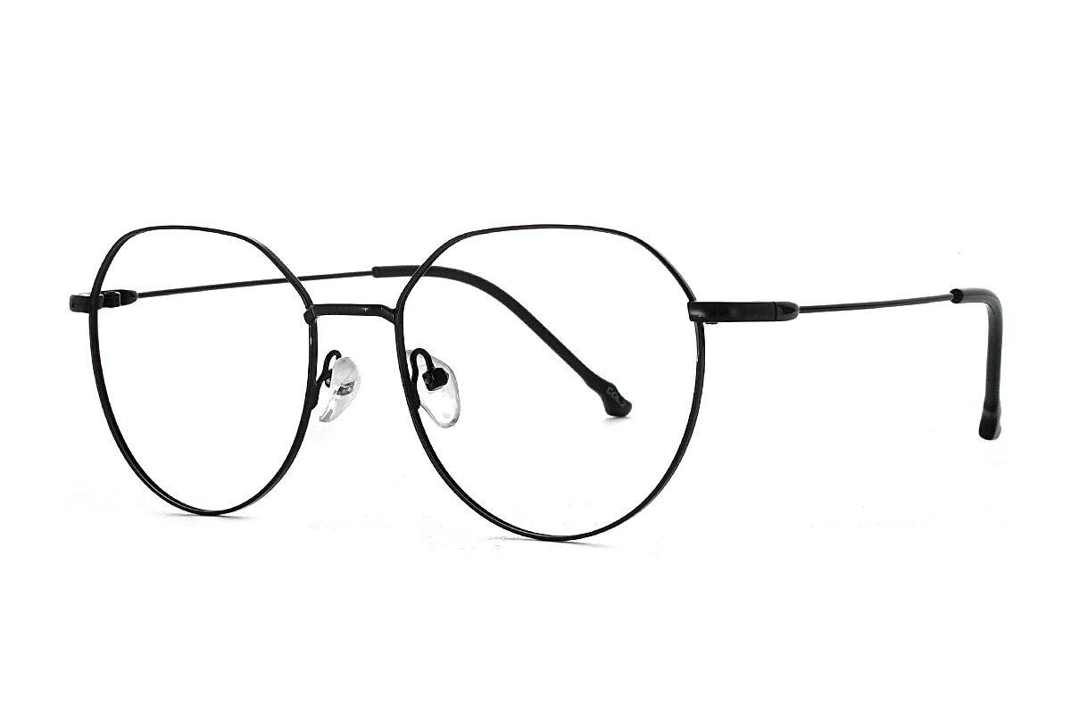 多角细框眼镜 18010-C21