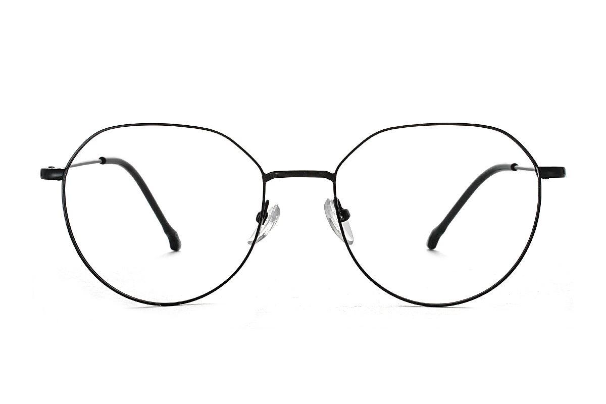 多角细框眼镜 18010-C22