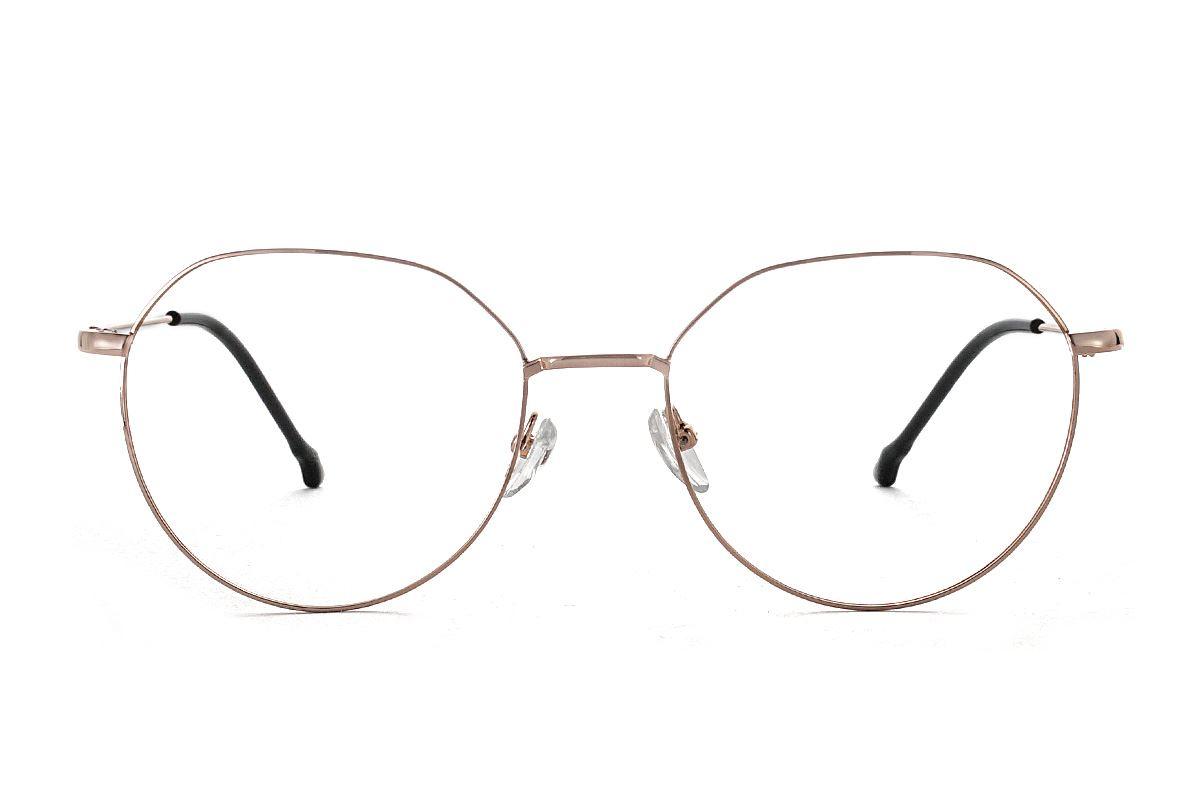 多角細框眼鏡 18010-C72