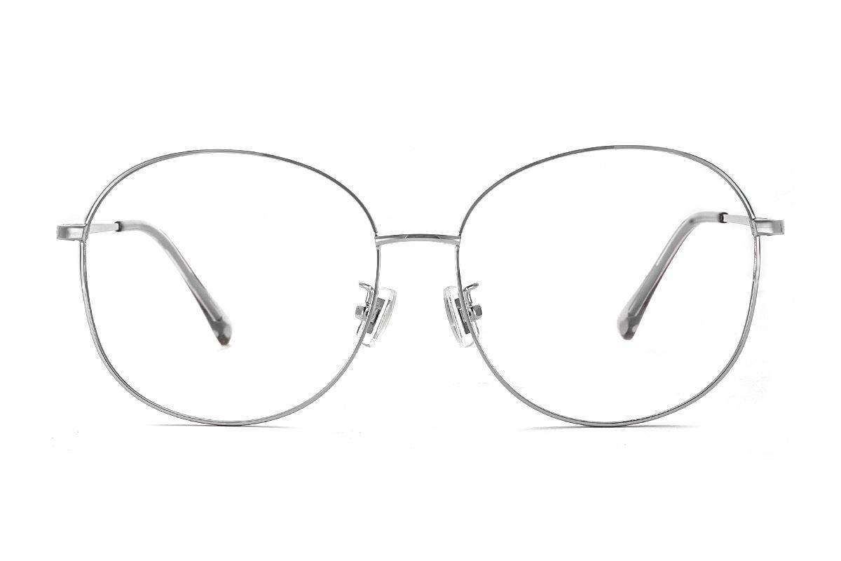 銀色復古眼鏡 61003-C22