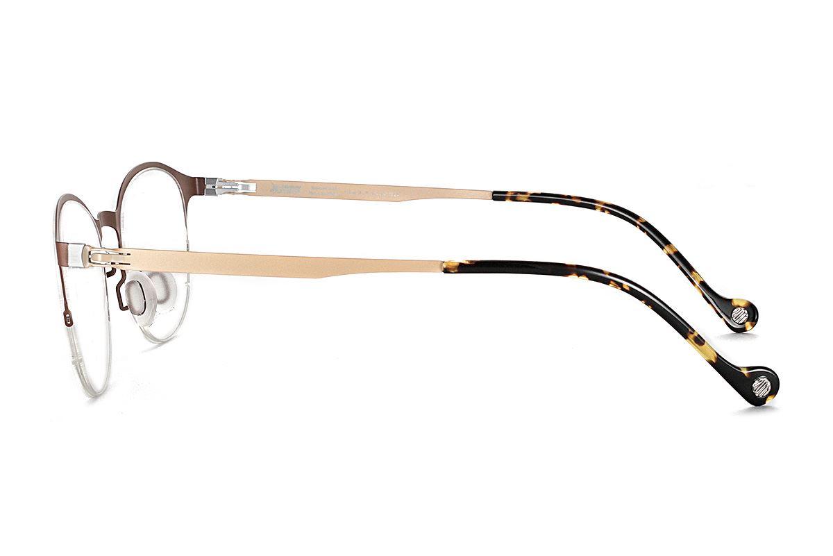 嚴選日製薄鋼眼鏡 F2S-7502-C723