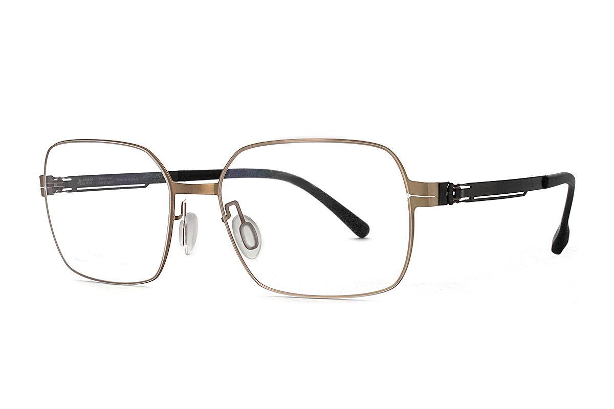 嚴選日製薄鋼眼鏡 F2M-8606-C761