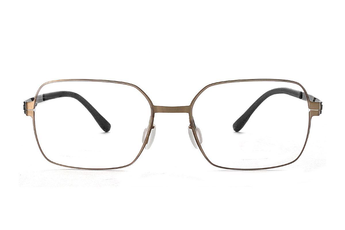 嚴選日製薄鋼眼鏡 F2M-8606-C762