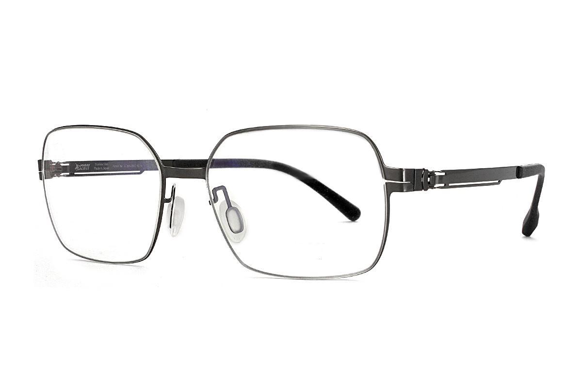嚴選日製薄鋼眼鏡 F2M-8606-C711