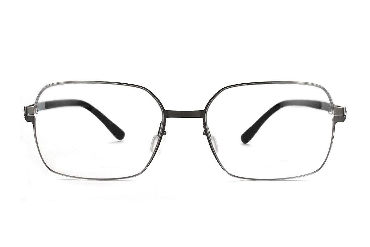 嚴選日製薄鋼眼鏡 F2M-8606-C712