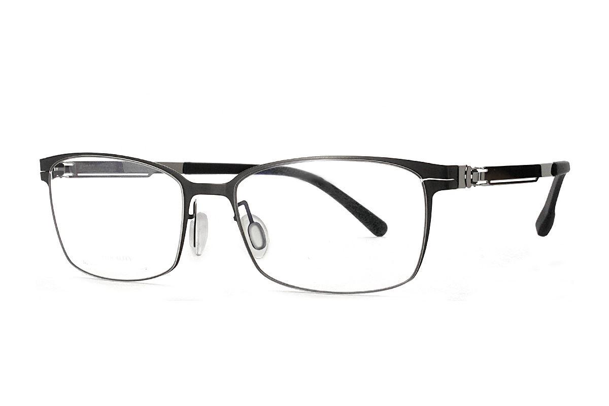 嚴選日製薄鋼眼鏡 F2M-8605-C711