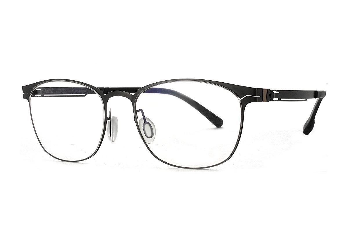 嚴選日製薄鋼眼鏡 F2M-8610-C711