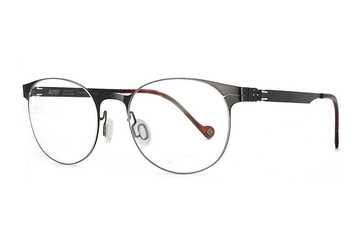 嚴選日製薄鋼眼鏡 F2M-7504-C711