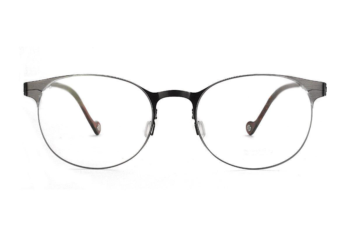 嚴選日製薄鋼眼鏡 F2M-7504-C712