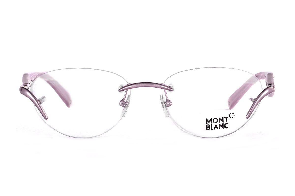 Montblanc 高質感眼鏡 MB441-0782
