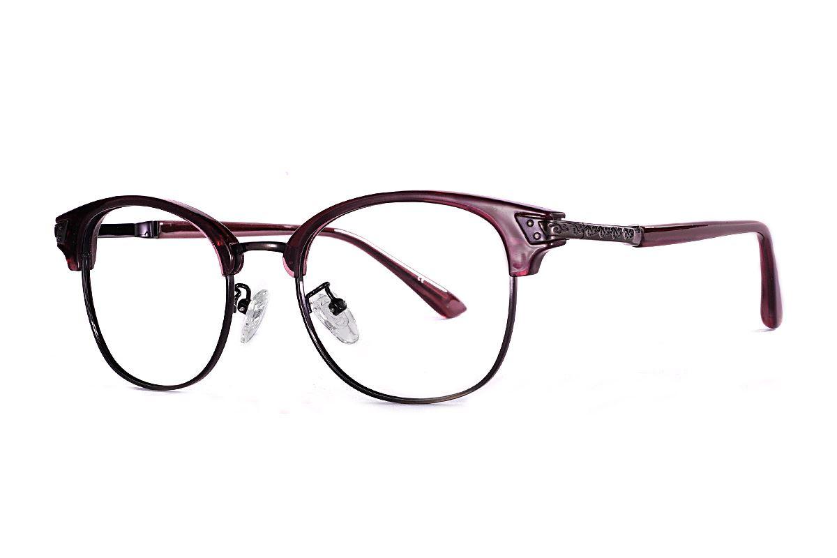 眉架質感眼鏡 LN1323-C21