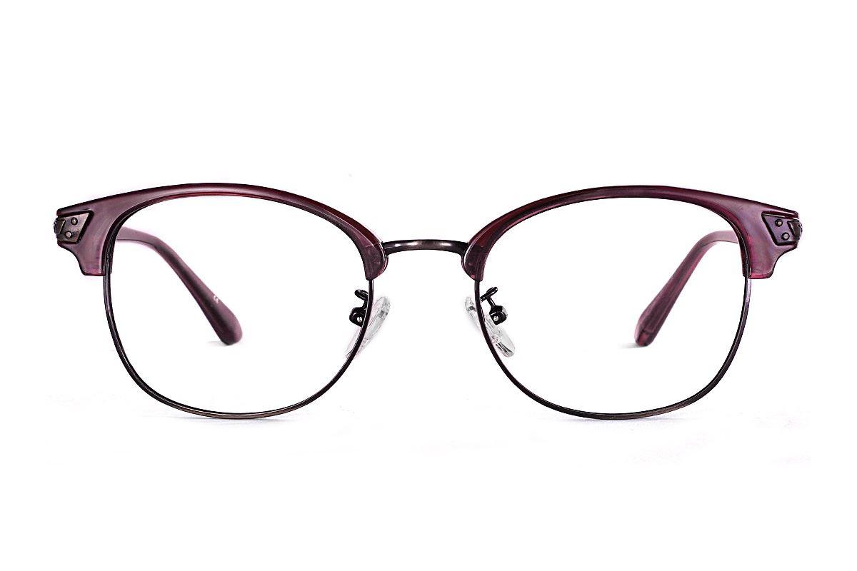 眉架質感眼鏡 LN1323-C22