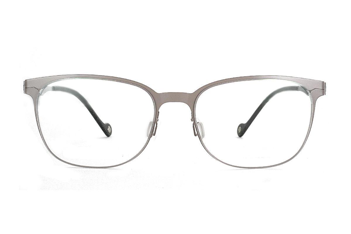 嚴選日製薄鋼眼鏡 F2M-7507-C722