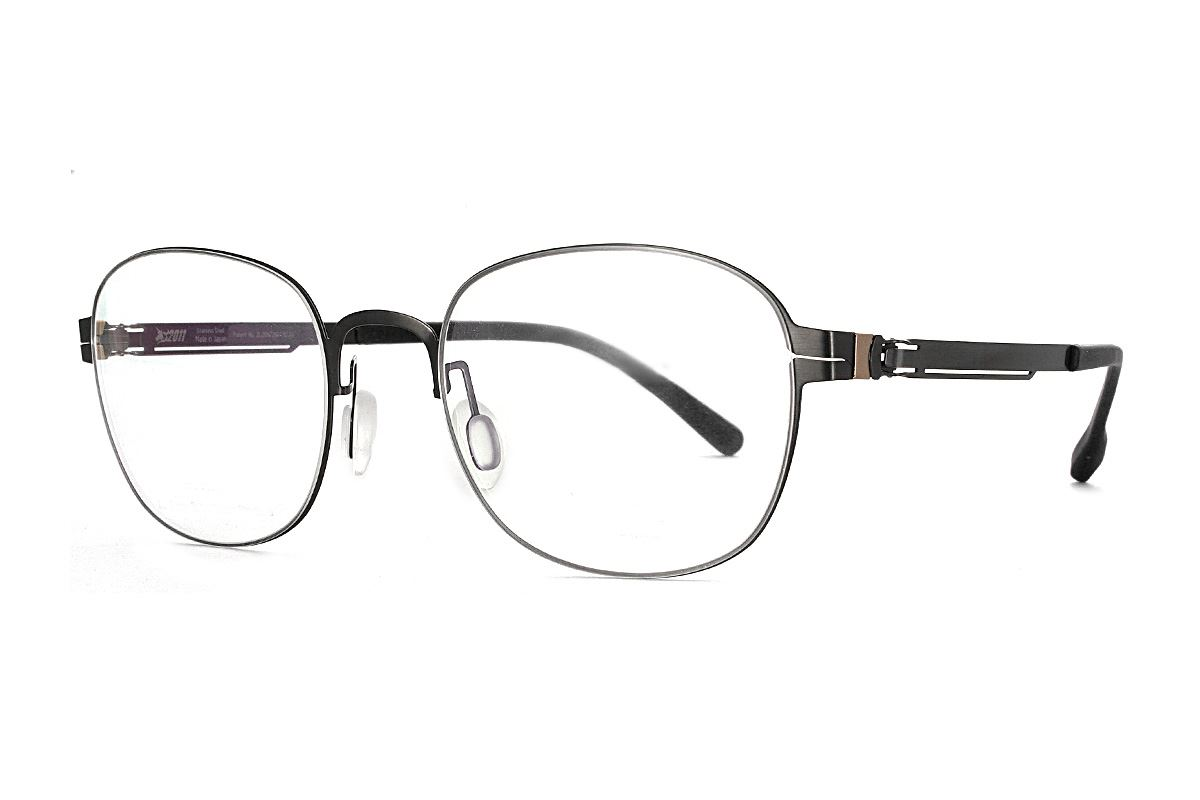 嚴選日製薄鋼眼鏡 F2M-8611-C711