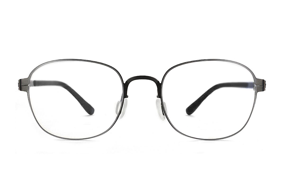 嚴選日製薄鋼眼鏡 F2M-8611-C712