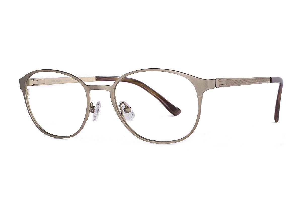 質感鈦金屬眼鏡 F1018-C11