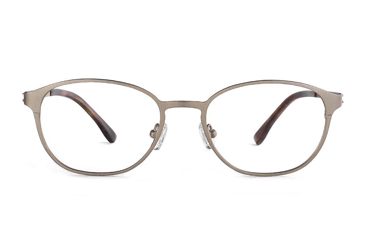 質感鈦金屬眼鏡 F1018-C12