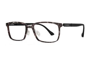 熱賣鏡框-嚴選日製複合式眼鏡 F7-70503-C5