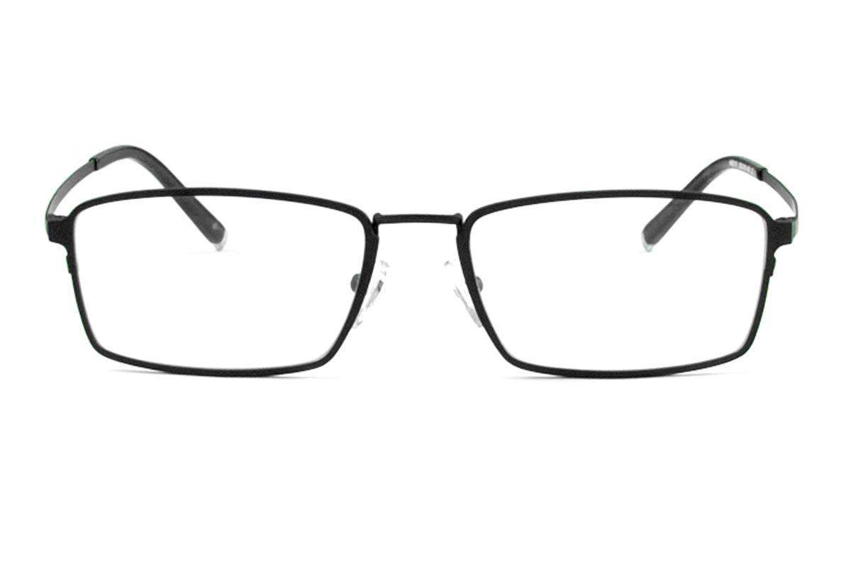 高質感純鈦鏡框(H6019黑)1