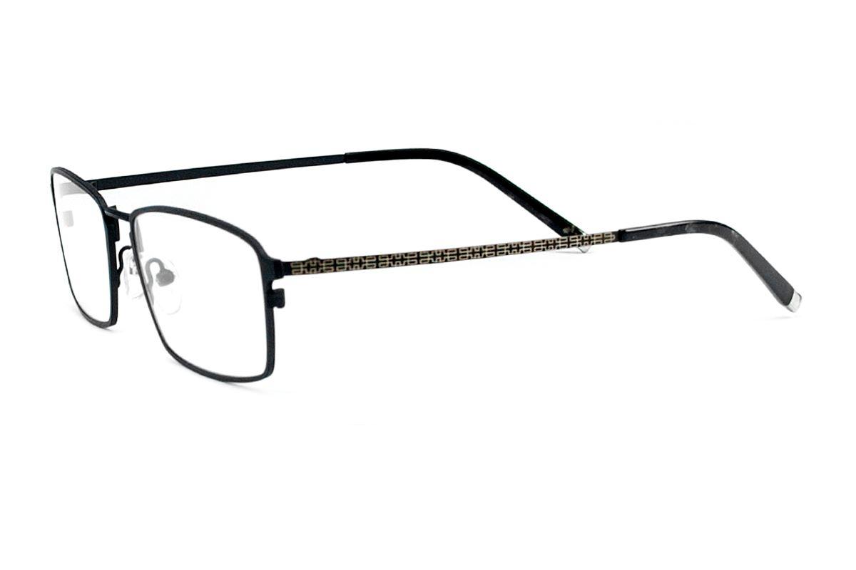 高質感純鈦鏡框(H6019黑)2