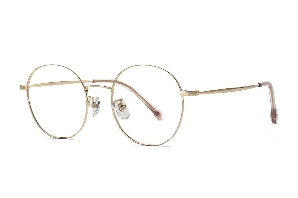 復古鈦細框眼鏡 8030-C91