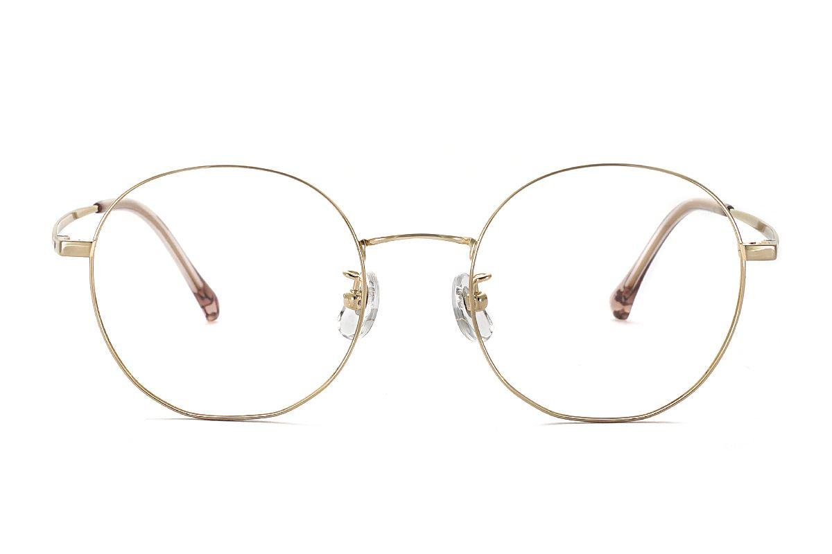 復古鈦細框眼鏡 8030-C92