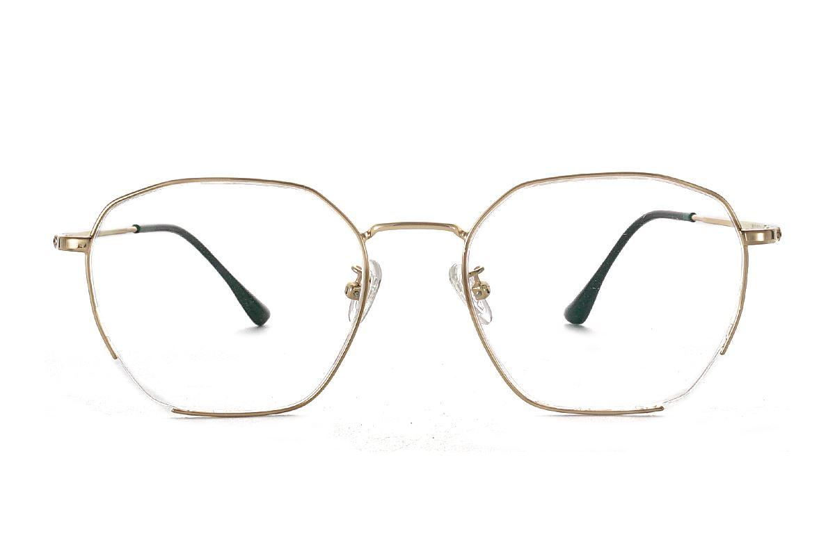 严选β-钛眼镜镜框 L8610-C42