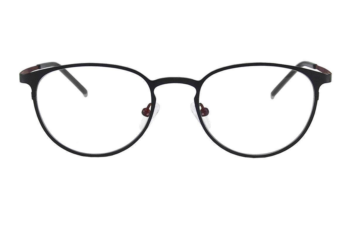严选高质感纯钛眼镜 H6001-BA2