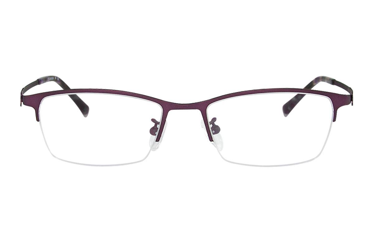 嚴選高質感鈦鏡框 H6166-PU2