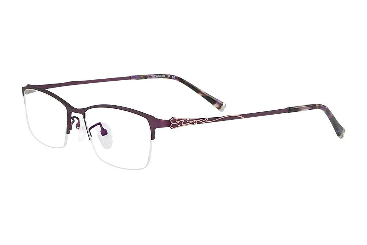 严选高质感钛镜框 H6166-PU1
