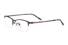 眼鏡鏡框-嚴選高質感鈦鏡框 H6166-PU
