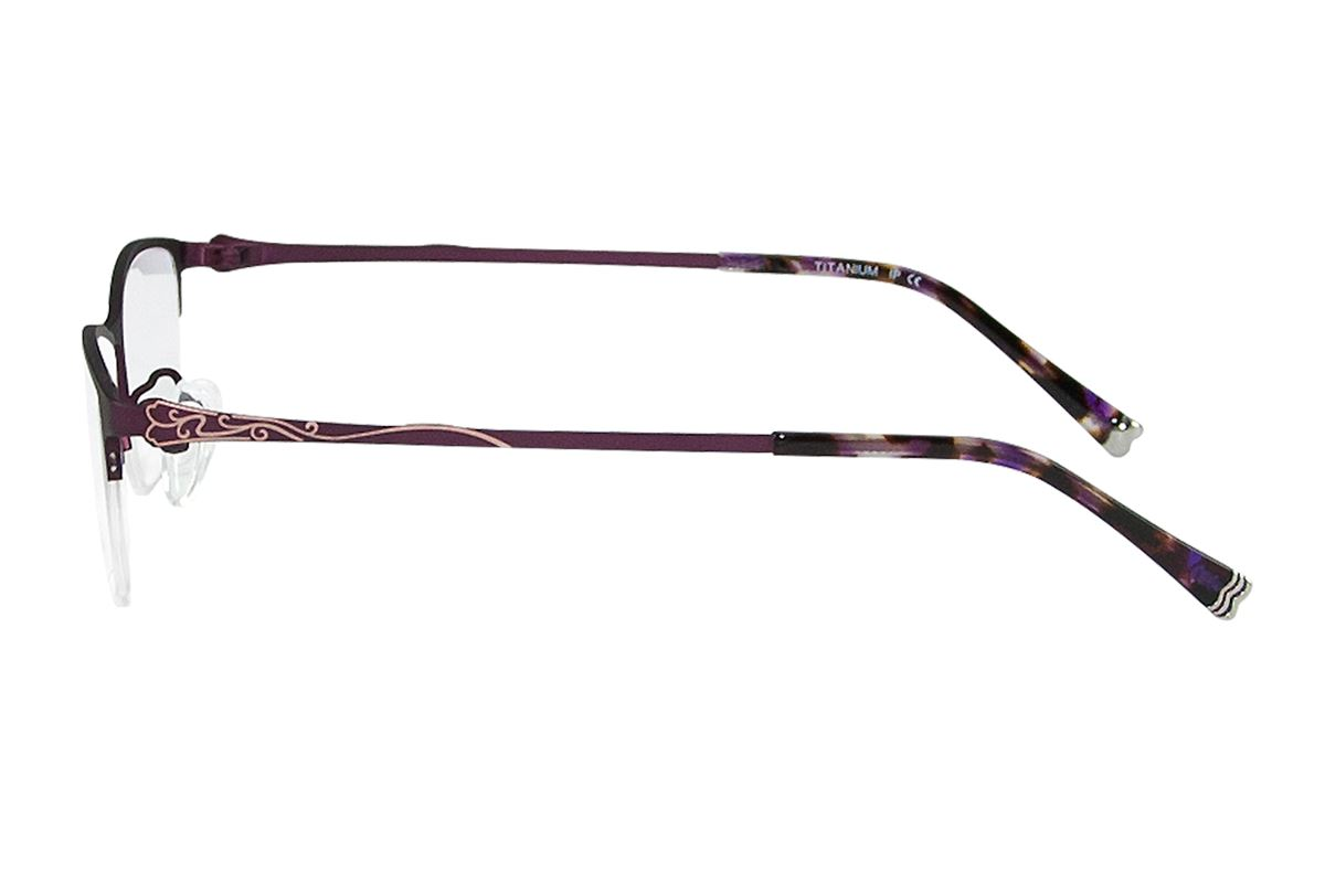 嚴選高質感鈦鏡框 H6166-PU3