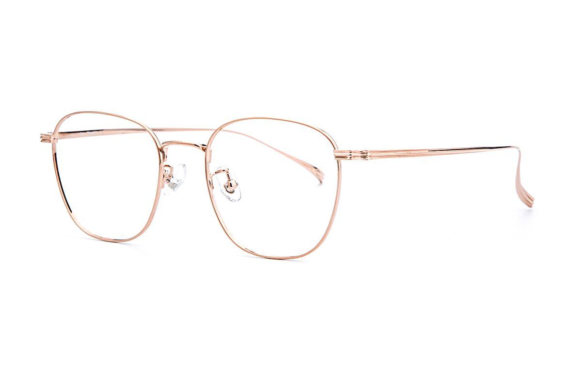复古钛细框眼镜 V9083-C551