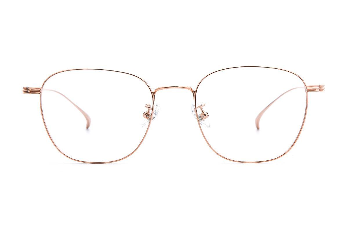 复古钛细框眼镜 V9083-C552