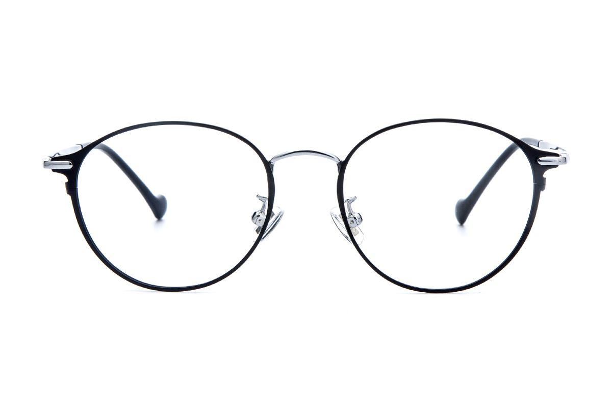 復古鈦細框眼鏡 6002-C22