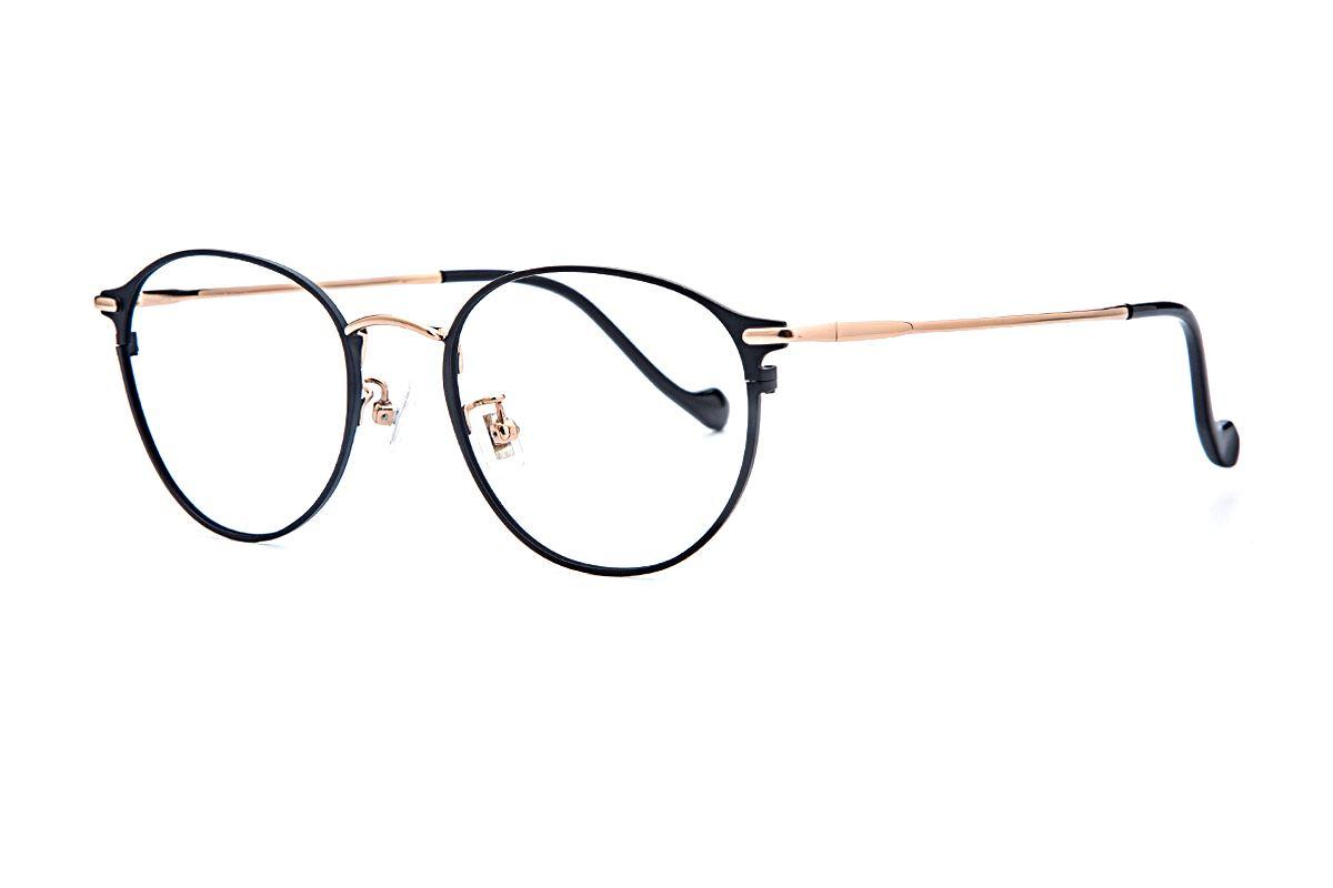 复古钛细框眼镜 6002-C51