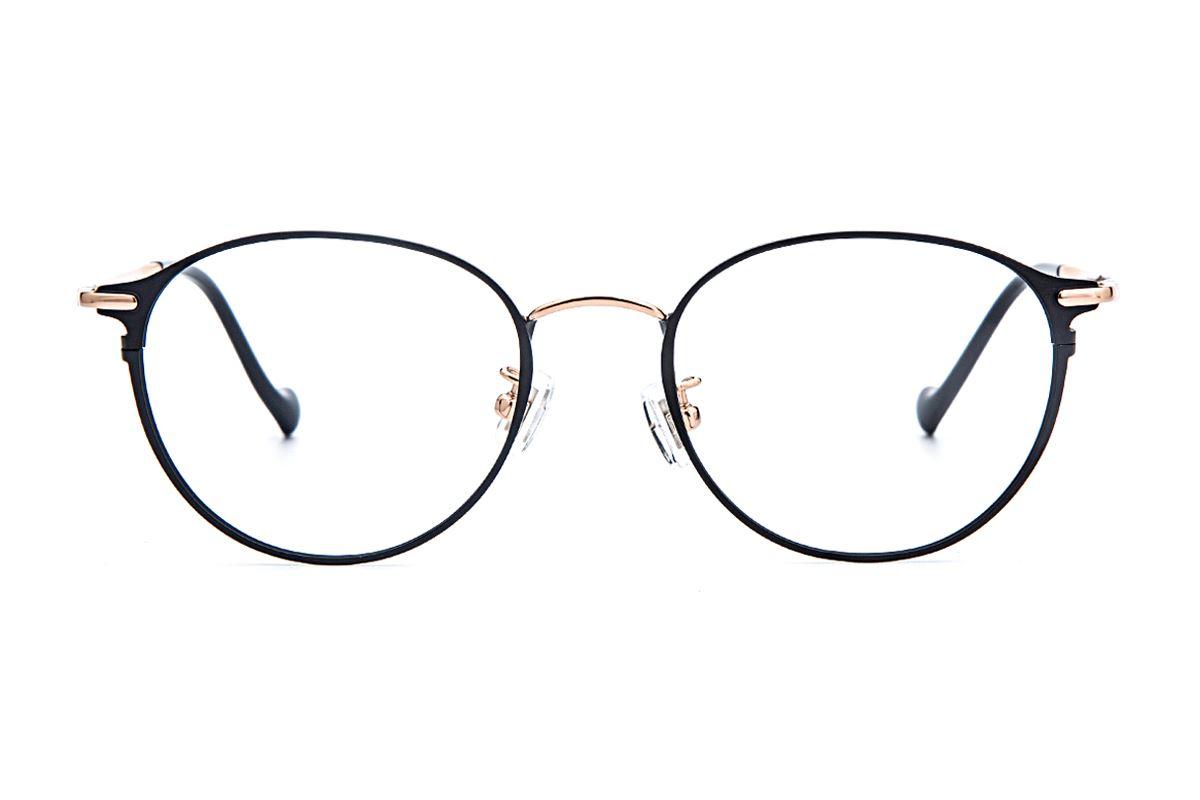复古钛细框眼镜 6002-C52