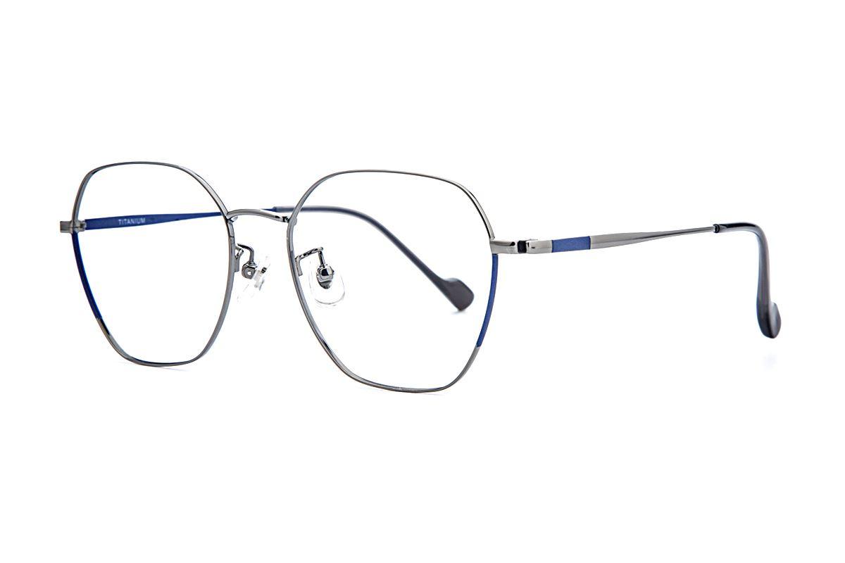 稜角鈦細框眼鏡 8158-C21