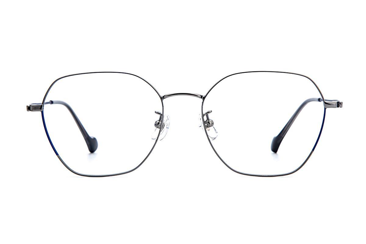 稜角鈦細框眼鏡 8158-C22