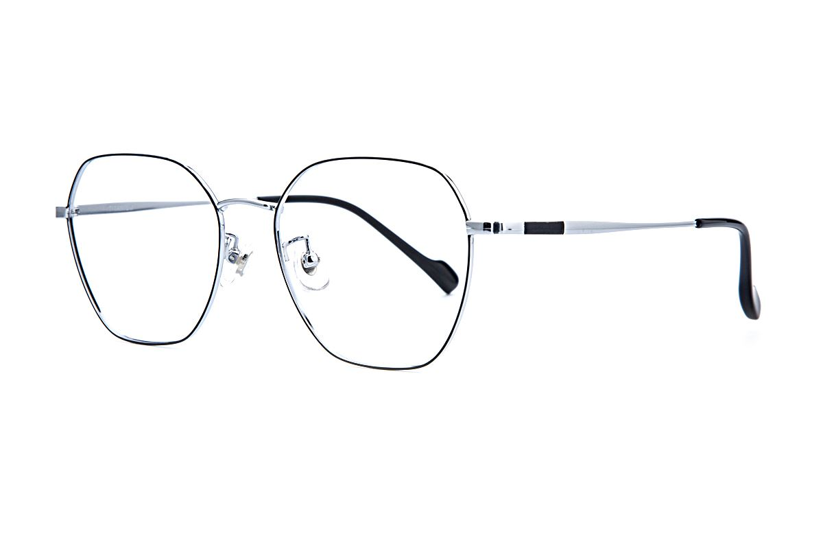 稜角鈦細框眼鏡 8158-C81