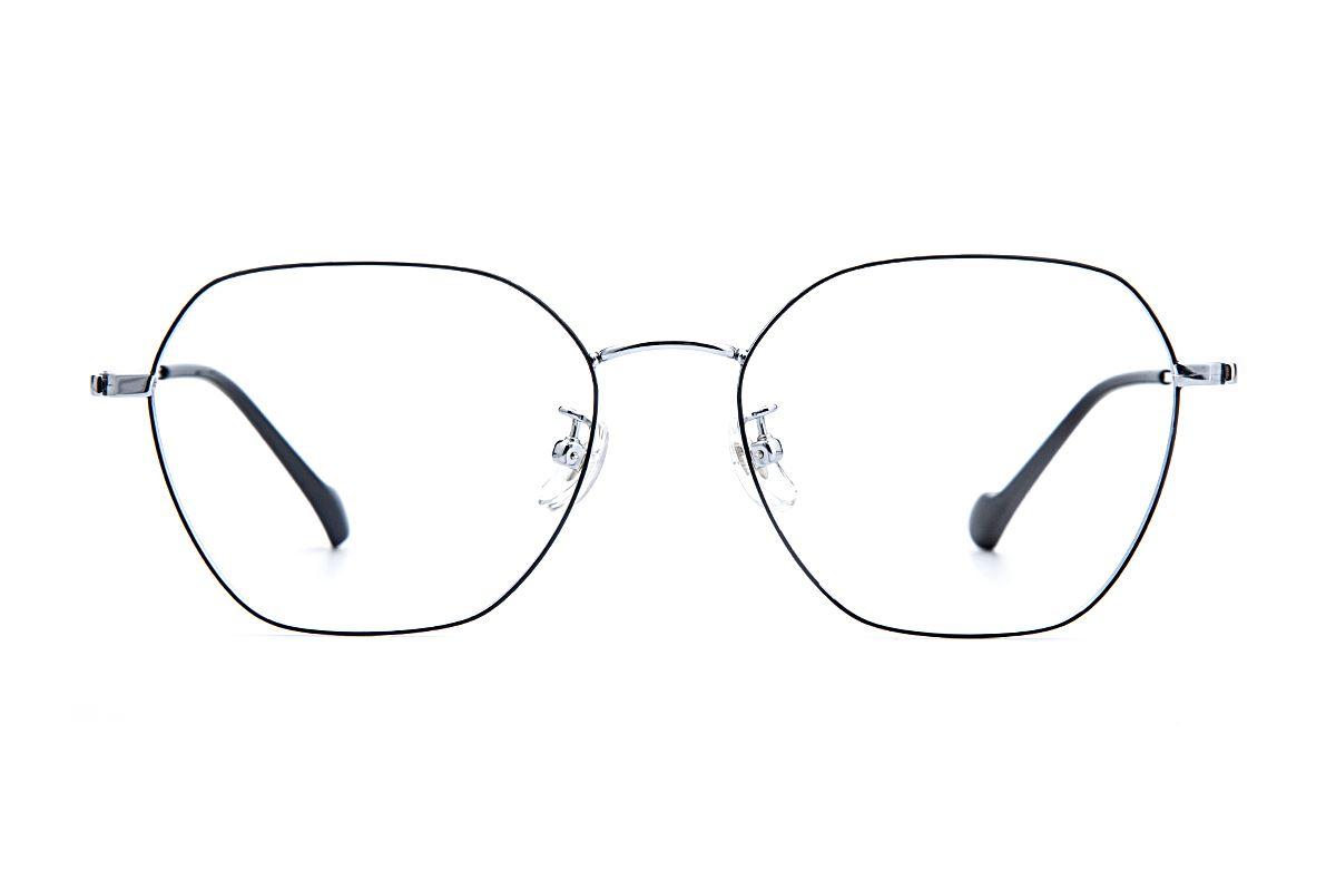 稜角鈦細框眼鏡 8158-C82