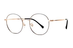 眼镜镜框-复古钛细框眼镜 8030-C1