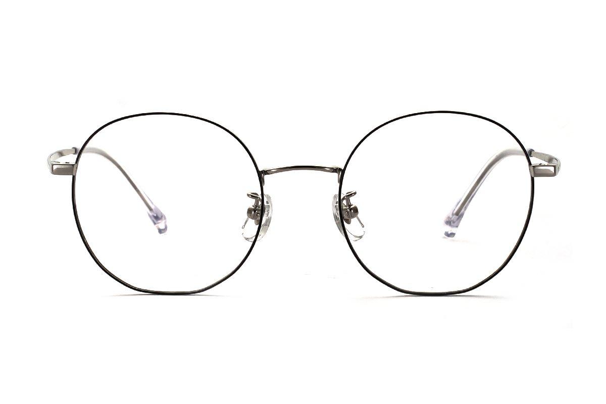 復古鈦細框眼鏡 8030-C102
