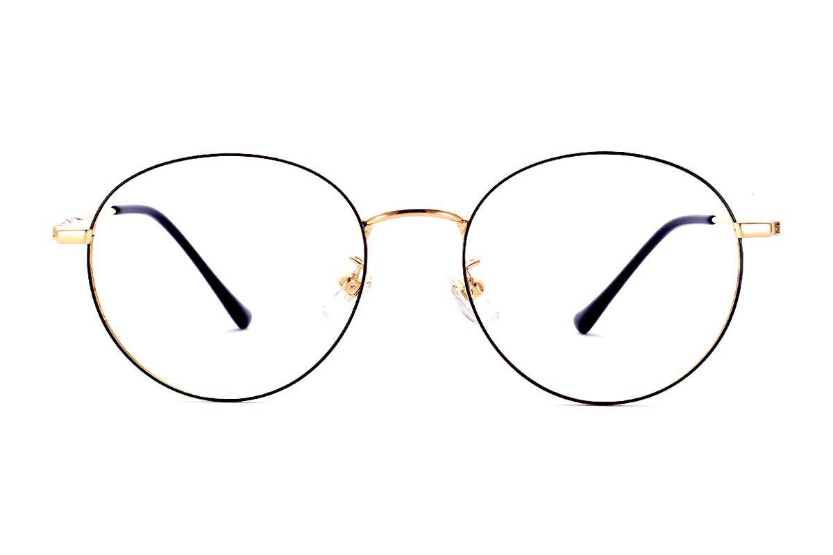 復古鈦細框眼鏡 8560-C12