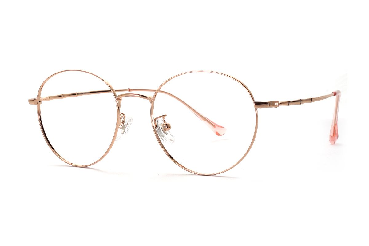 復古鈦細框眼鏡 8560-C41