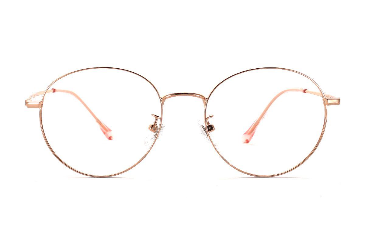 復古鈦細框眼鏡 8560-C42