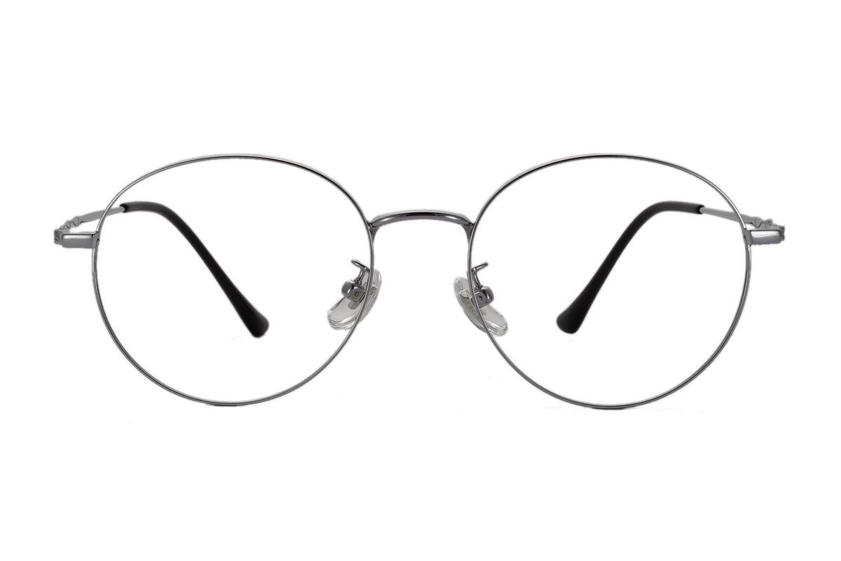 復古鈦細框眼鏡 8560-C52