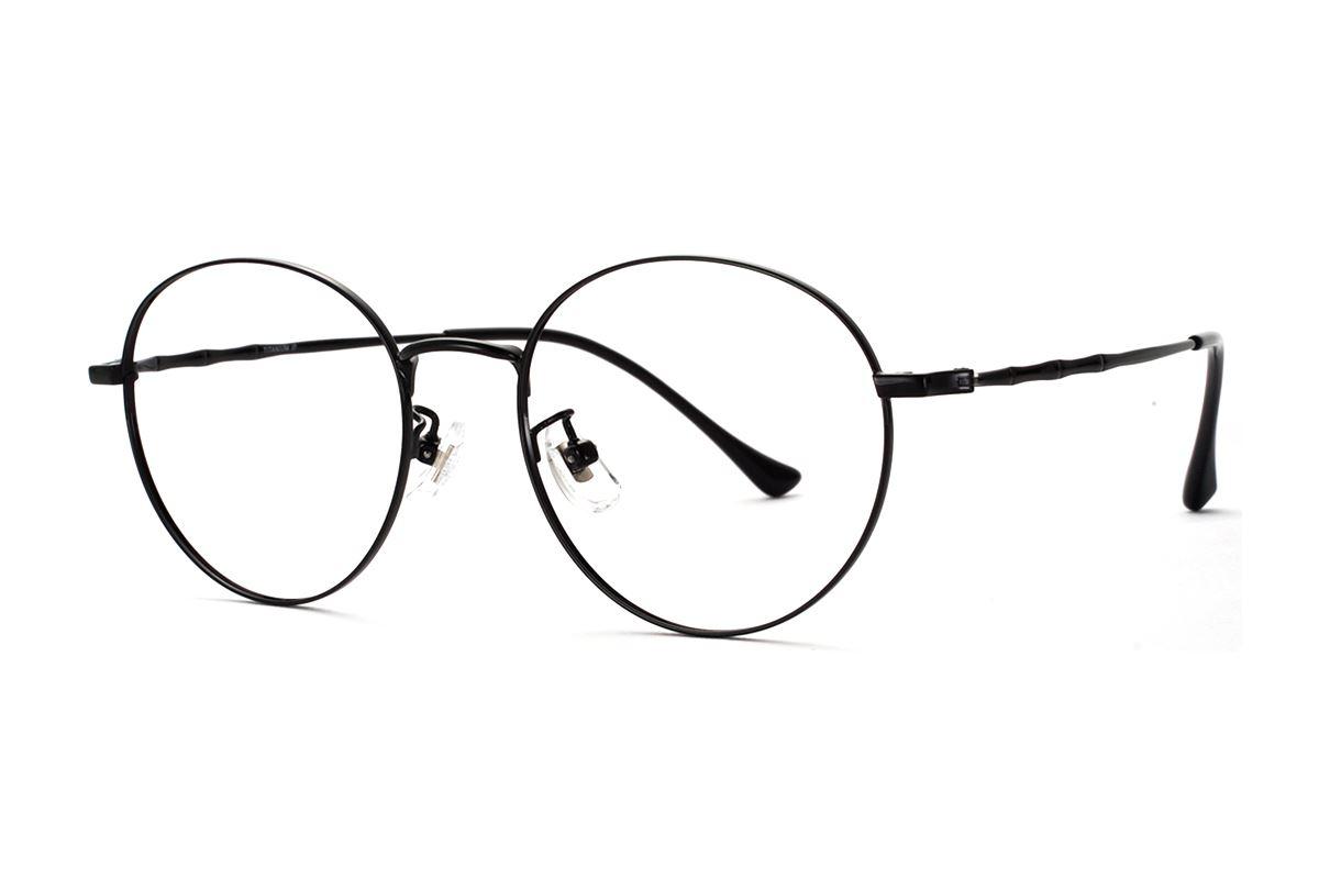 复古钛细框眼镜 8560-C1-11