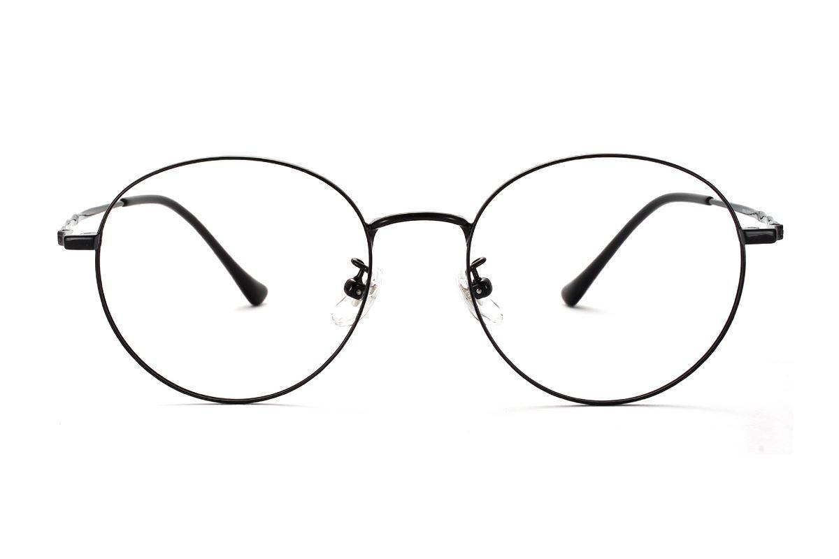 复古钛细框眼镜 8560-C1-12