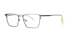 眼鏡鏡框-嚴選經典鈦眼鏡 T5043-C504
